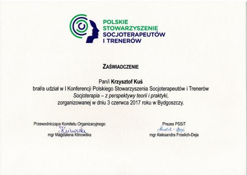 Socjoterapia konferencja Bydgoszcz